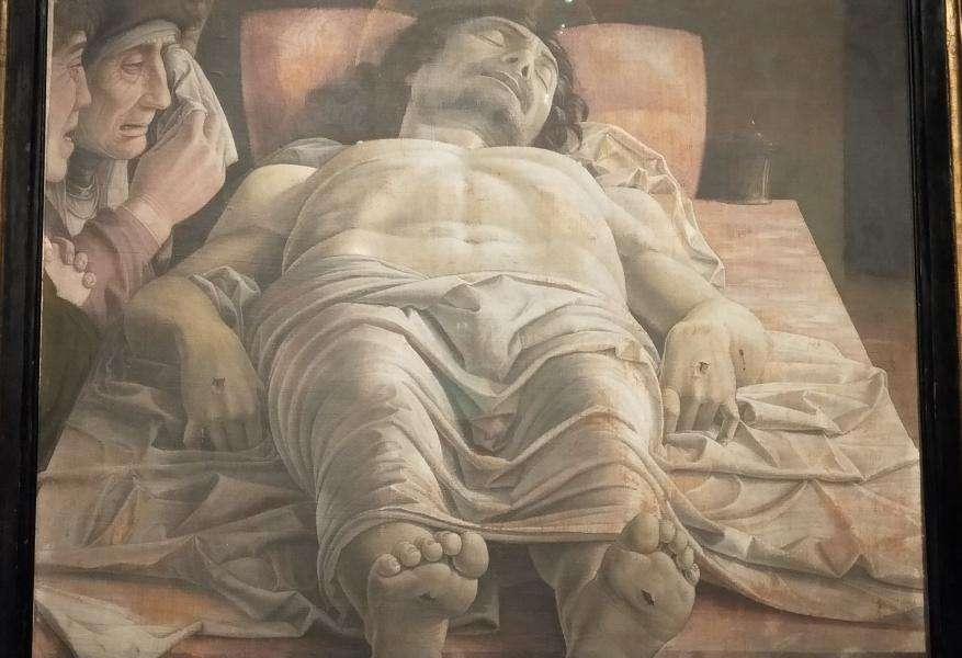 """Mantegna """"Cristo Morto"""""""