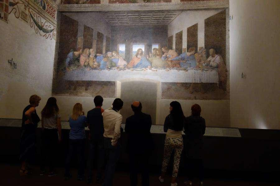 Cenacolo visita Santa Maria delle Grazie