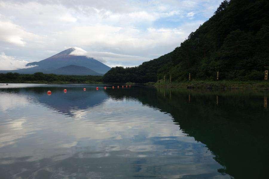 Monte Fuji e il lago Saiko