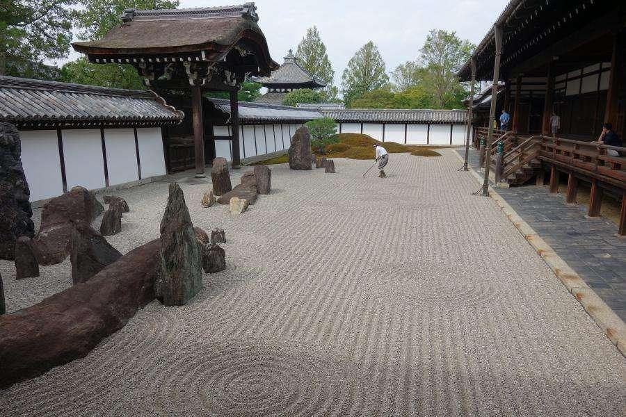 Tofuku-ji giardino zen a Kyoto