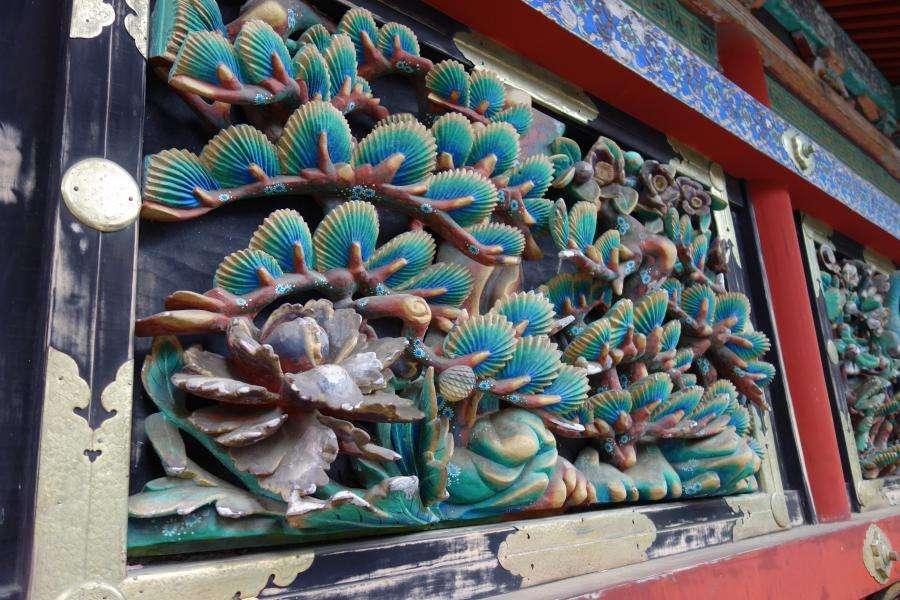 Nikko Tosho-gu santuario decorazioni