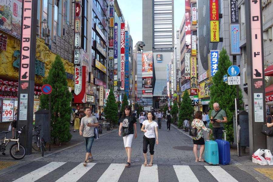 Kabukicho a Shinjuku Tokyo