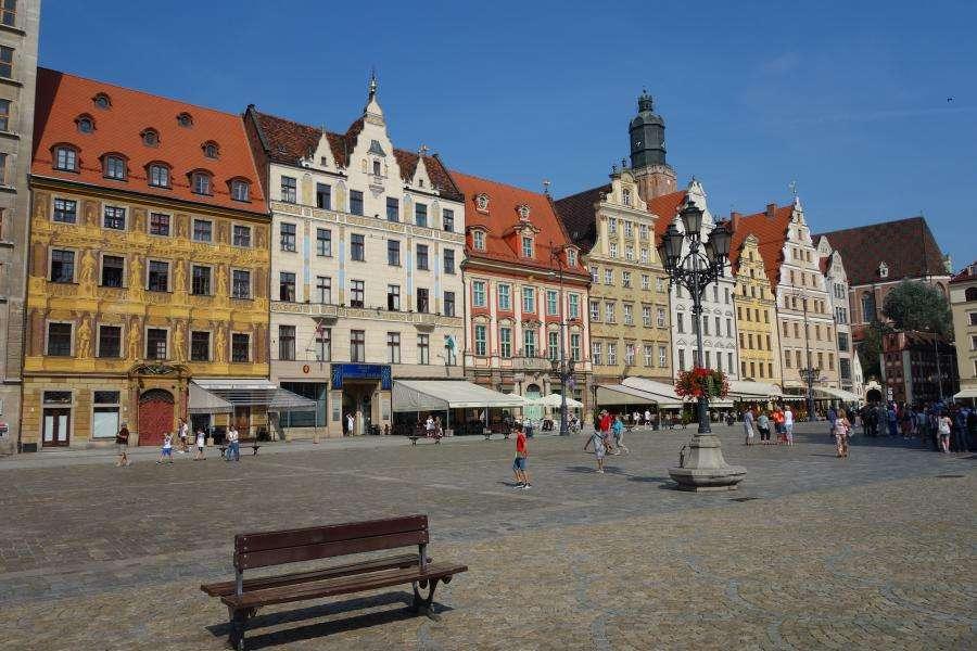 Wroclaw o Breslavia in Polonia