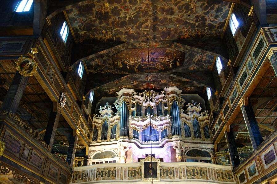 Swidnica chiesa della Pace in legno in Polonia