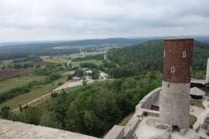 Checiny castello in Polonia
