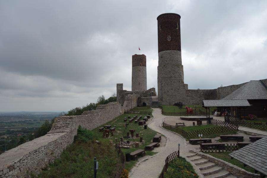 Checiny castello medievale polacco