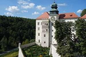 Ojcow castello in Polonia