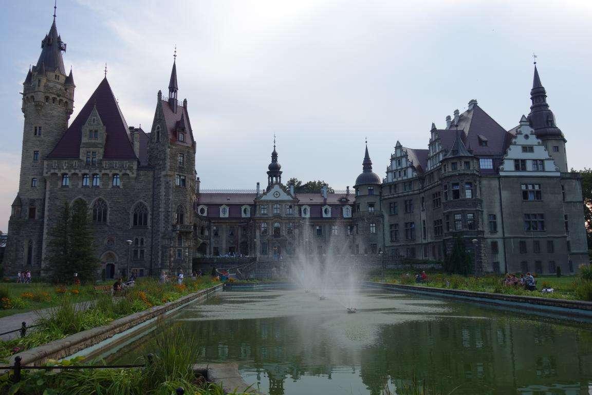 Castello di Moszna cosa vedere Polonia