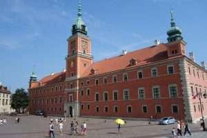 Castello Reale di Varsavia la facciata
