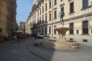 Università di Breslavia fontana dello spadaccino