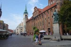 Statua Copernico a Torun