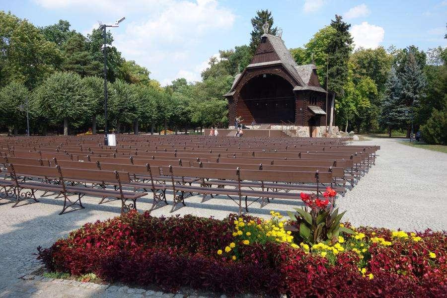 Teatro all'aperto di Ciechocinek