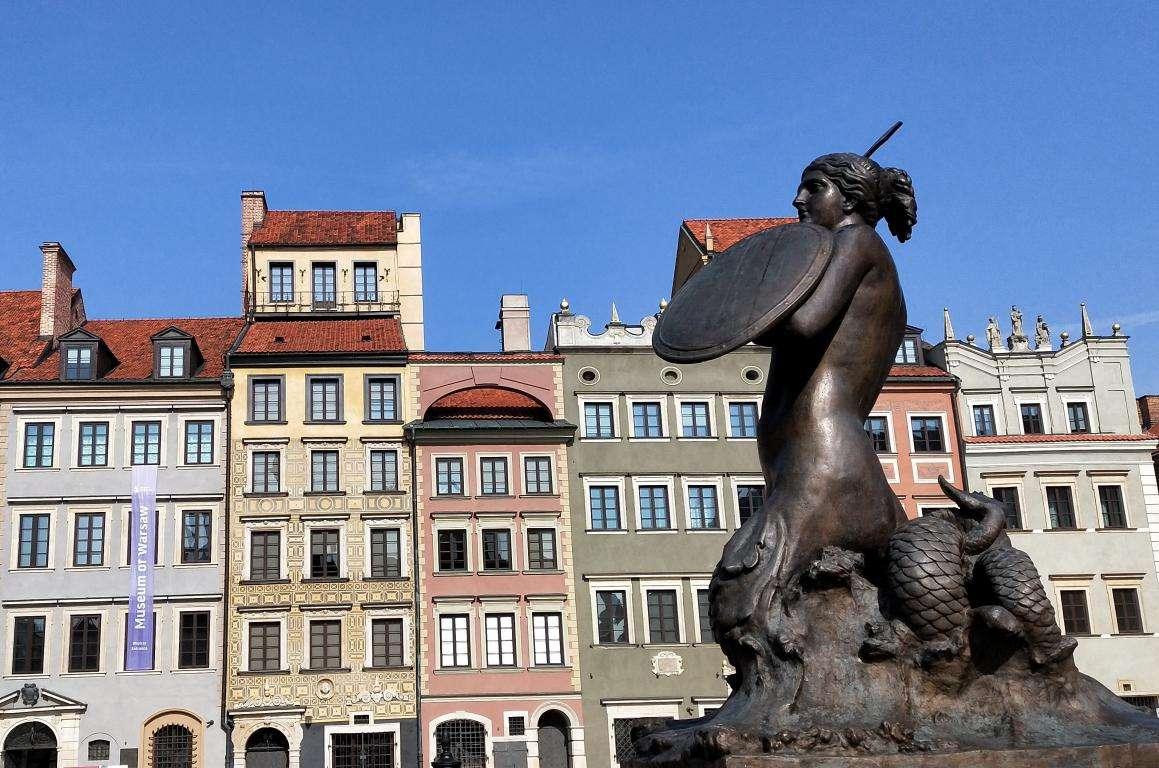 Varsavia città vecchia cosa vedere Polonia