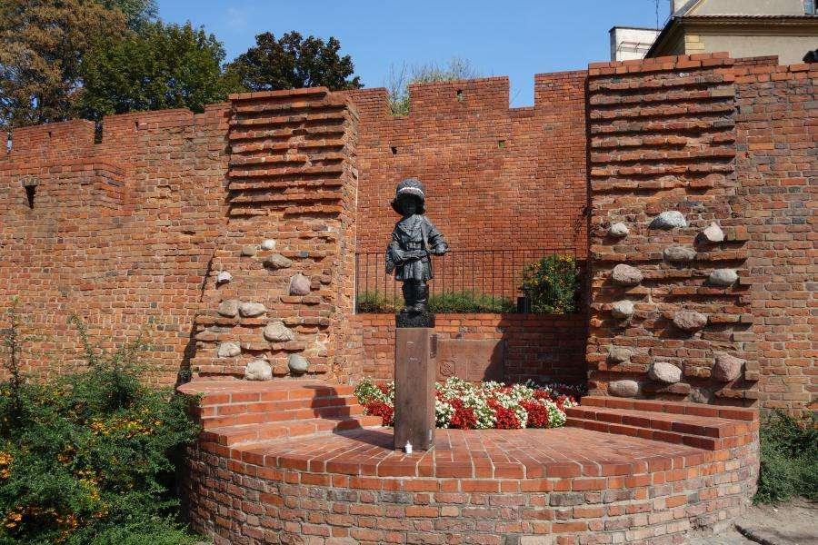 Statua del piccolo insurrezionalista di Varsavia