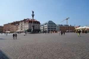 Piazza del Castello Reale di Varsavia
