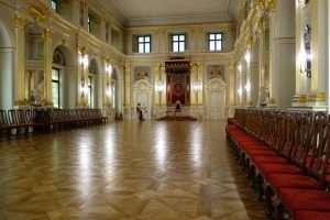 Sala del trono del Castello Reale di Varsavia