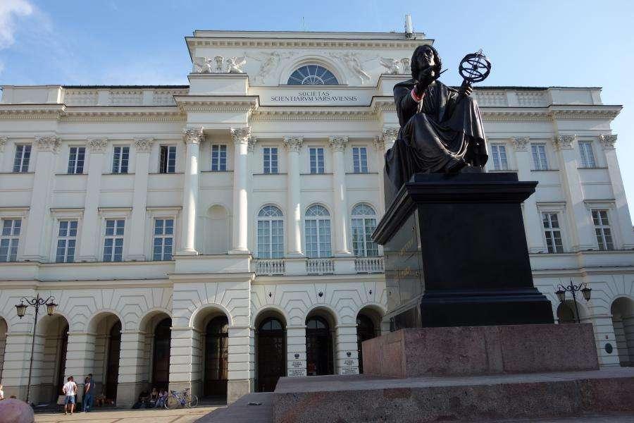 Monumento a Copernico Varsavia