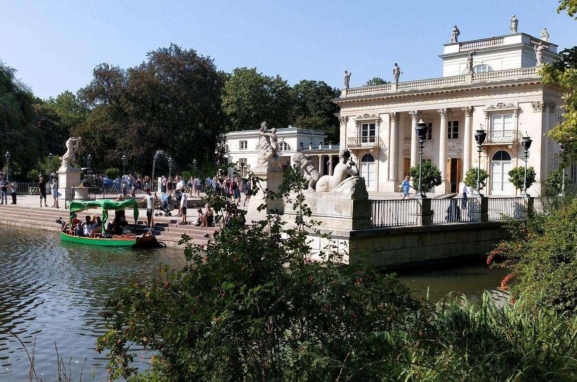 Parco Lazienki cosa vedere Varsavia