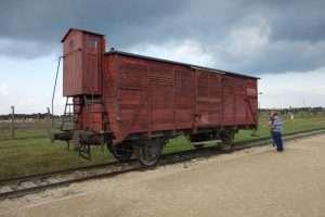 Vagone di Auschwitz