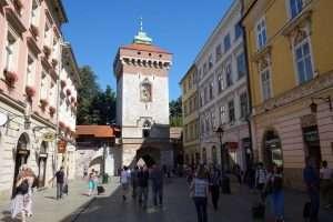 Porta Florianska di Cracovia