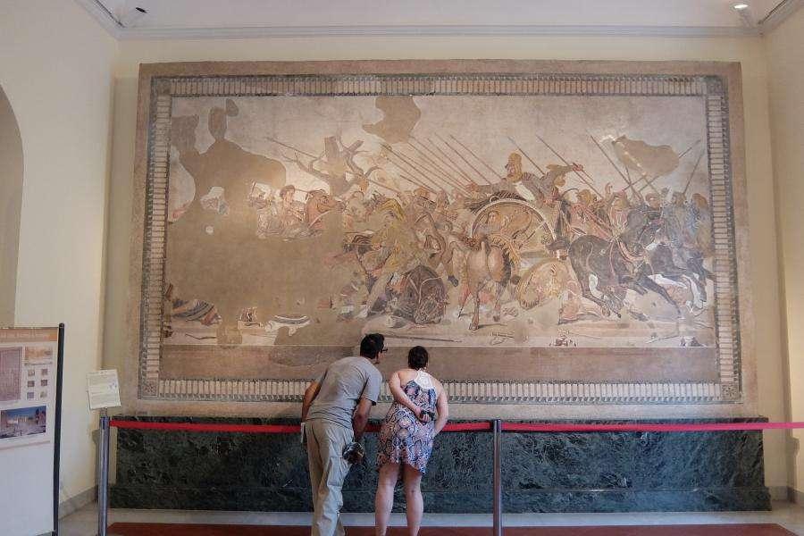 Museo archeologico di Napoli mosaici