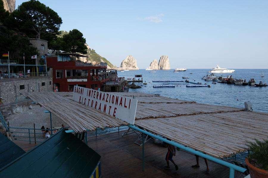 Faraglioni di Capri da Marina Piccola