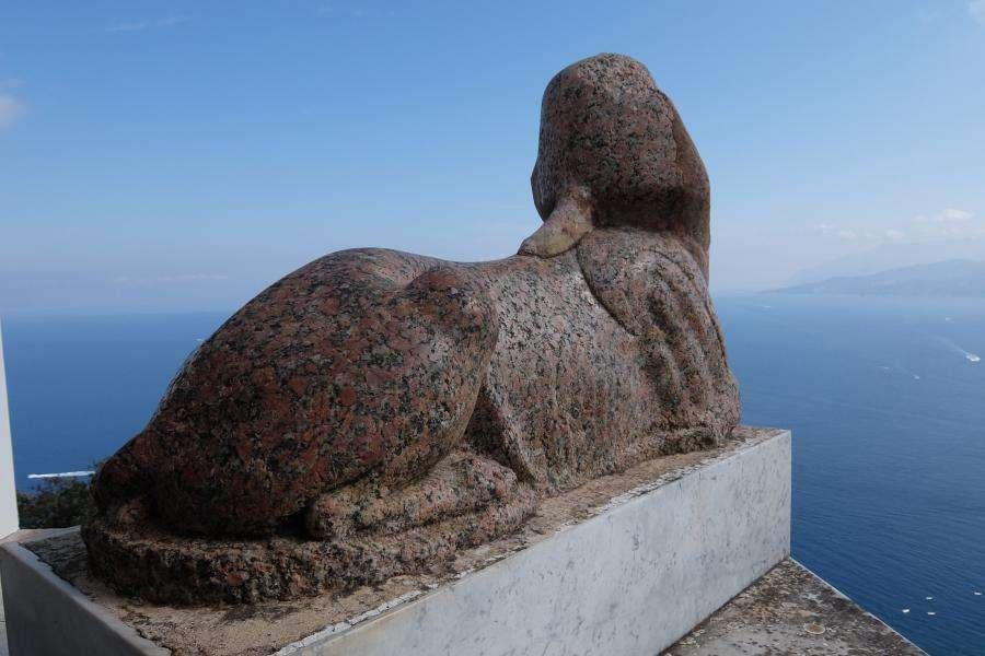 Villa San Michele la sfinge di Anacapri