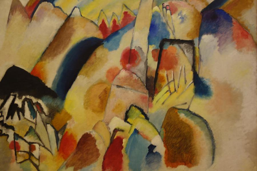 Vasily Kandinsky Peggy Guggenheim Venezia