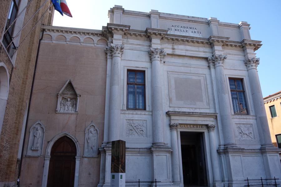 Gallerie dell'Accademia entrata cosa vedere Venezia