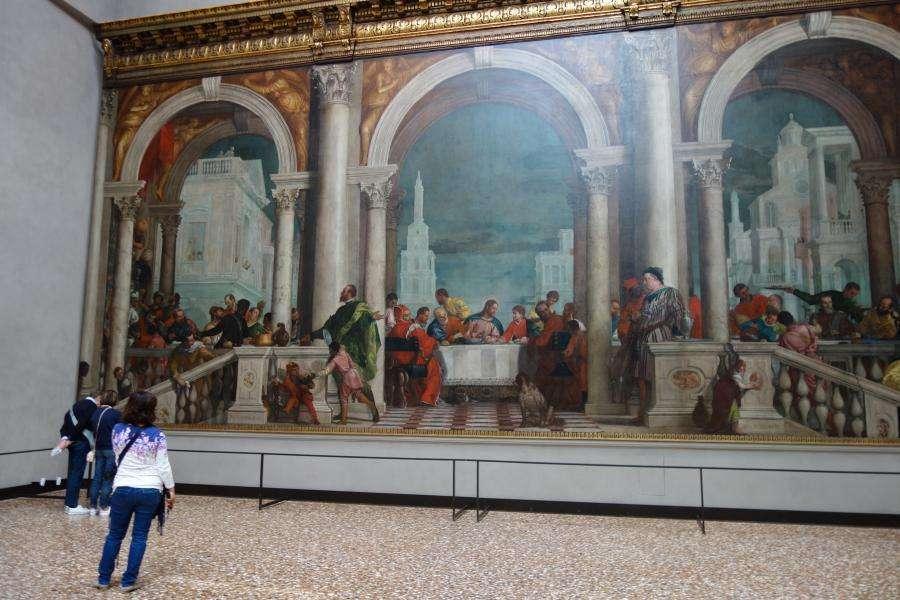 Convito in casa Levi Gallerie dell'Accademia Venezia