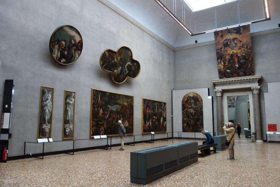 Sale delle Gallerie dell'Accademia Venezia