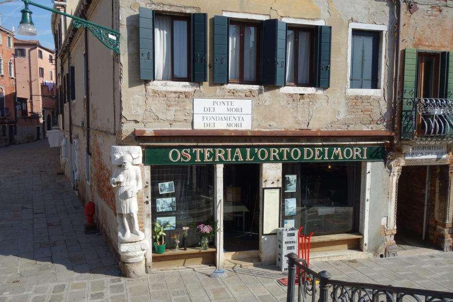 Campo dei Mori a Venezia cosa vedere