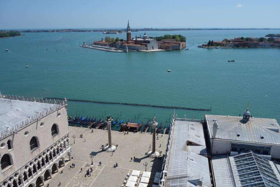 Vista dal campanile di San Marco