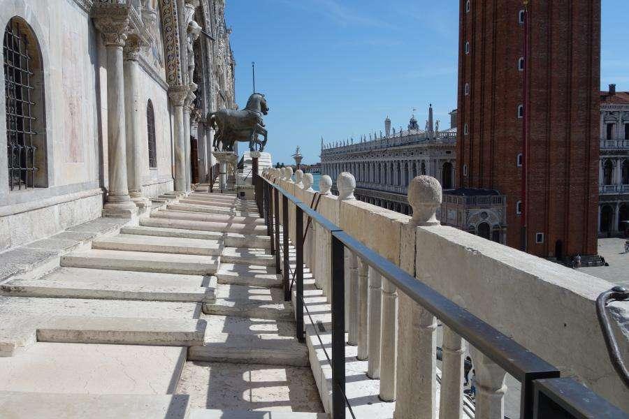 Terrazza con i cavalli della Basilica di San Marco