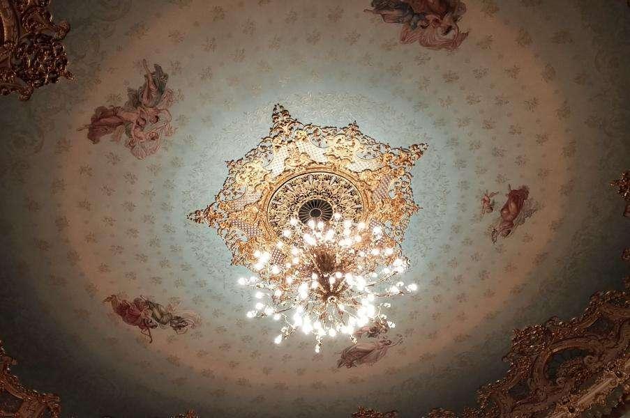 Soffitto della Fenice di Venezia