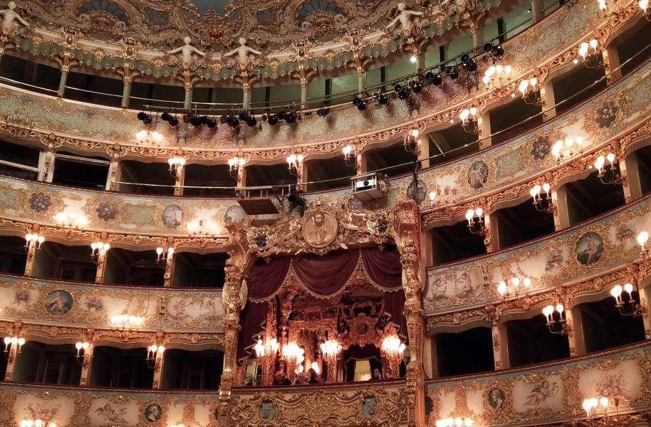 Palco reale della Fenice di Venezia