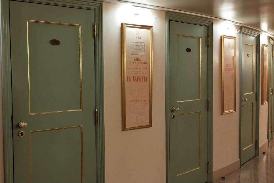Teatro la Fenice accessi alle logge