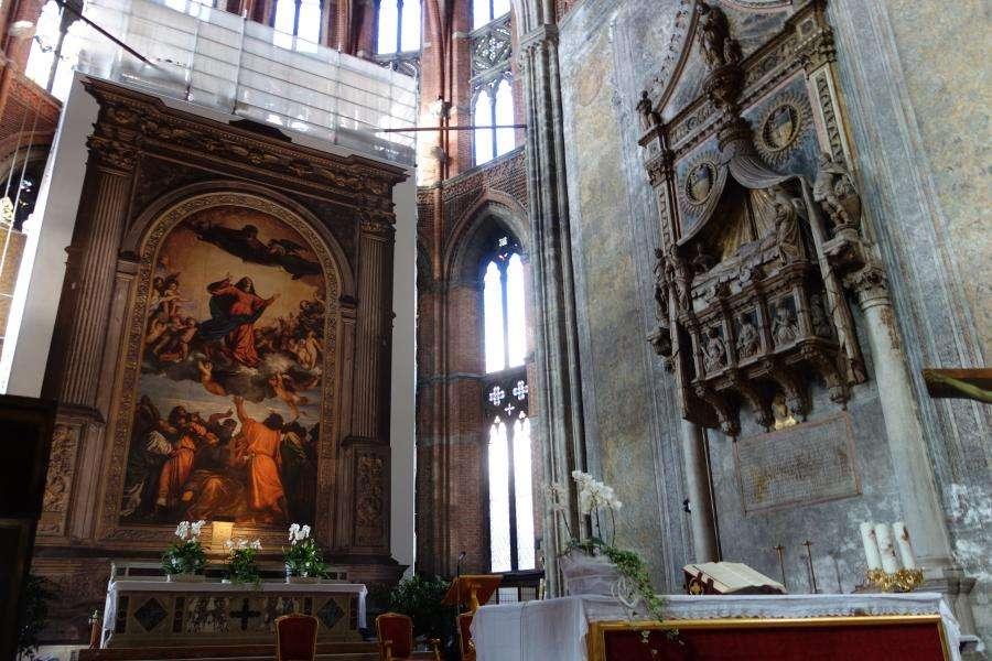 Assunta di Tiziano Santa Maria dei Frari