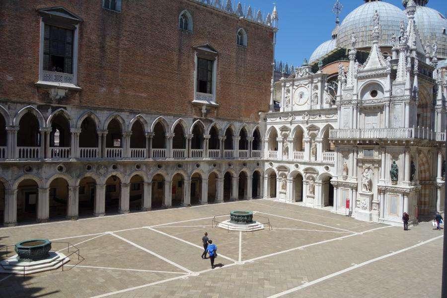 Corte centrale del Palazzo Ducale di Venezia
