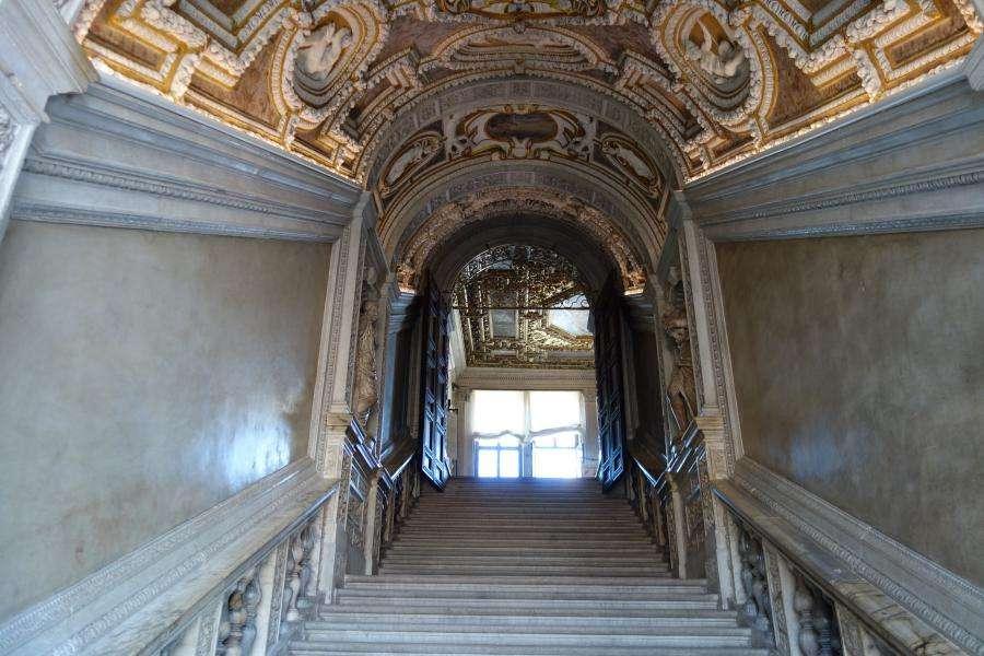 Scala dei Censori Palazzo Ducale
