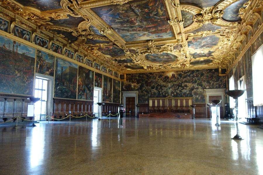Sala del Maggior Consiglio Palazzo Ducale Venezia