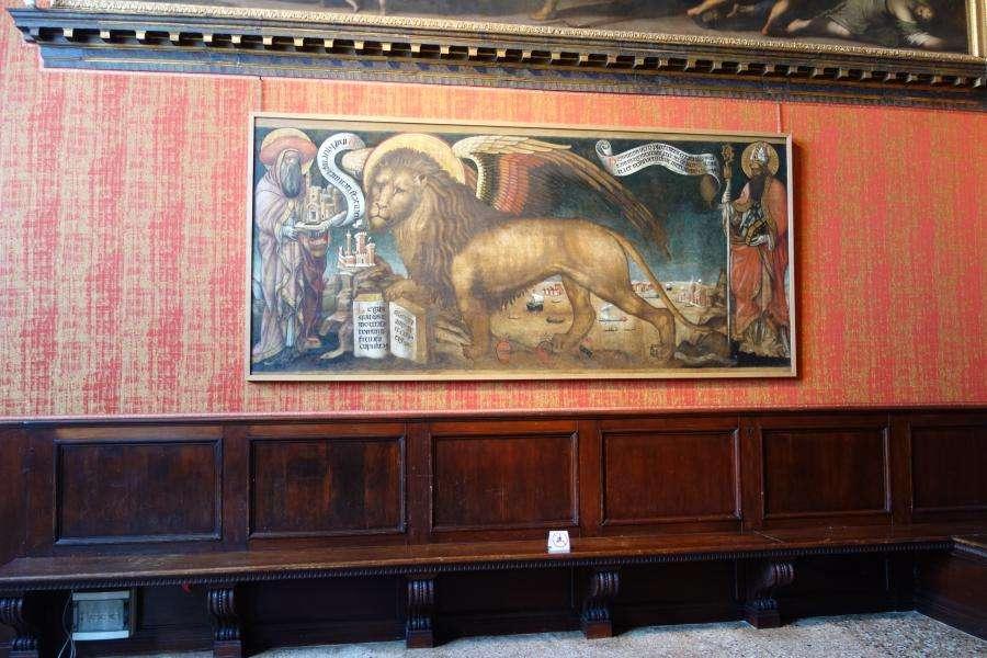 Leone di Venezia a Palazzo Ducale