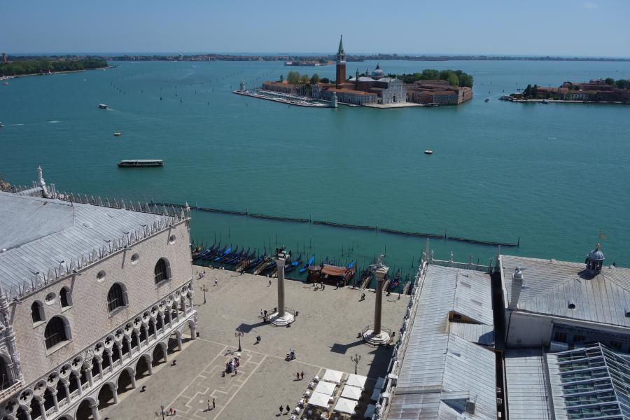 Piazzetta san Marco a Venezia