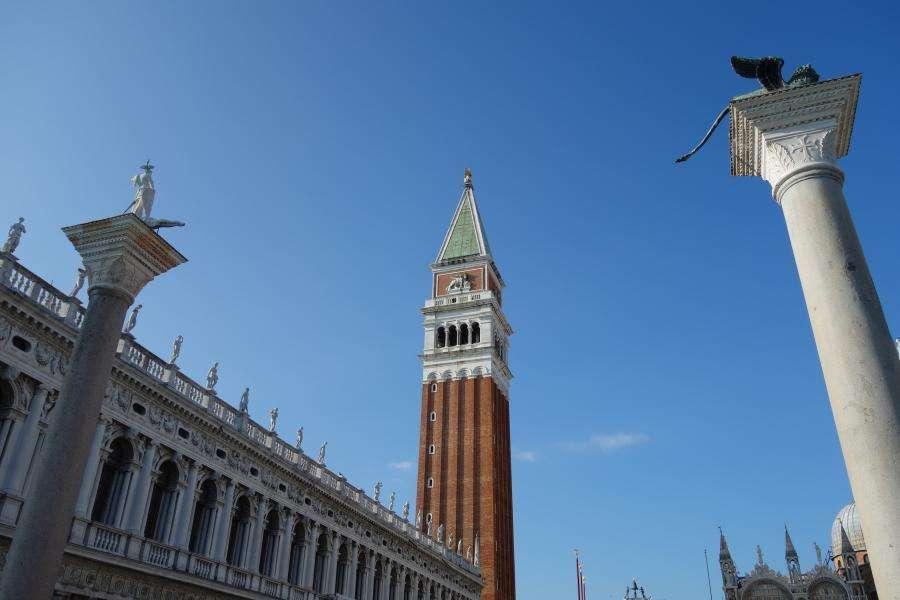 Colonne in piazzetta San Marco Venezia