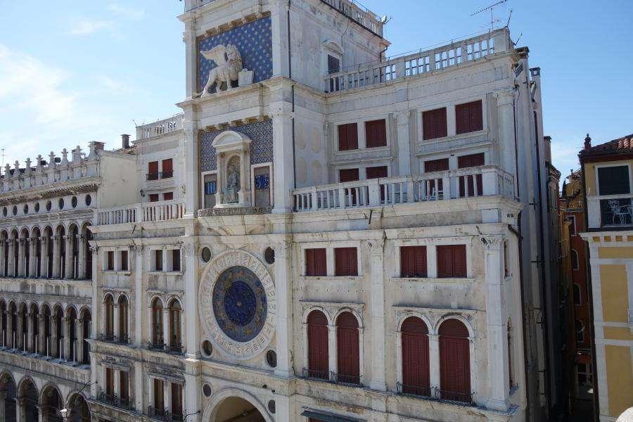 Torre dell'orologio piazza San Marco Venezia