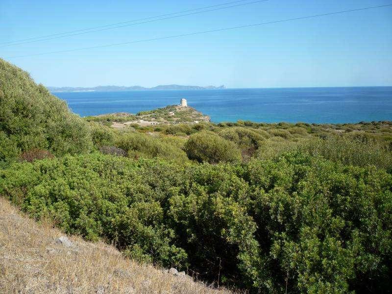 Sant'Antioco isola torre Cannai Sardegna in camper