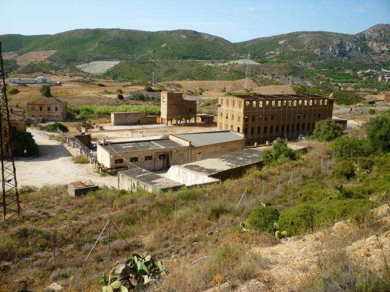 Miniere in Sardegna viaggio in camper
