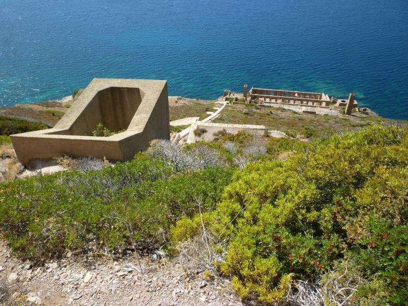 Laveria Lamarmora Golfo di Gonnessa Sardegna in camper