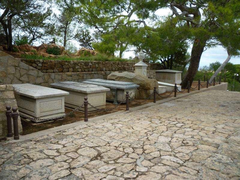 Caprera cimitero casa di Garibaldi cosa vedere