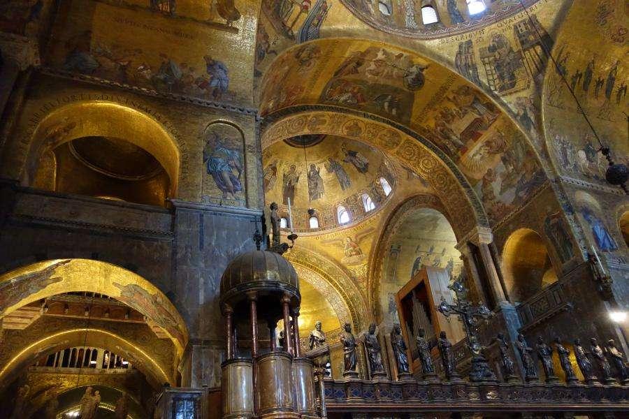 Mosaici dorati della basilica di Venezia
